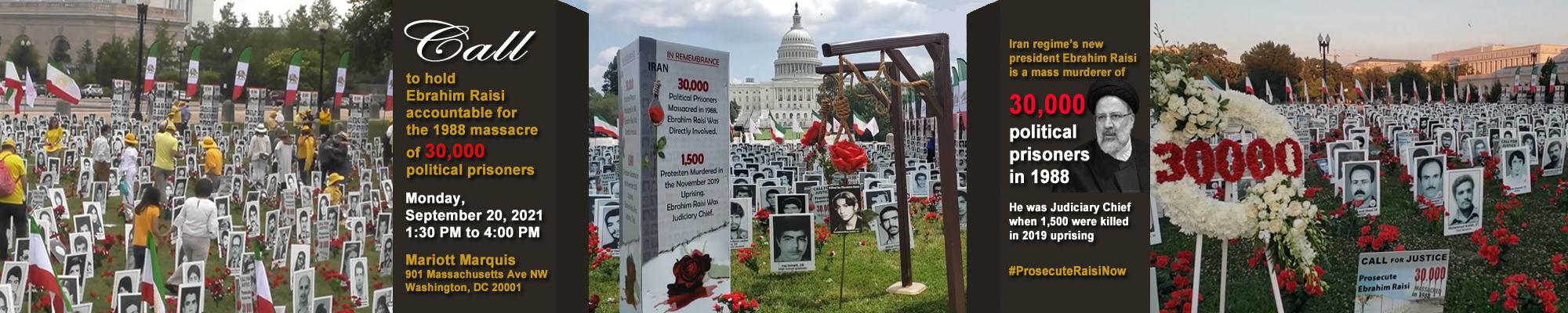 1988 Massacre Raisi Capitol